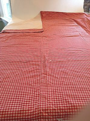 Vintage German Linen Duvet Cover And European Pillow cover