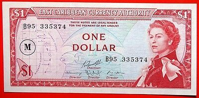 "East Caribbean Currency Authority Queen Ii Dollar ""  M  "" Uncirculated."