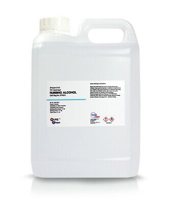 2L Jerry Container Rubbing Alcohol - 70% Pure IPA Isopropyl Isopropanol PUREChem