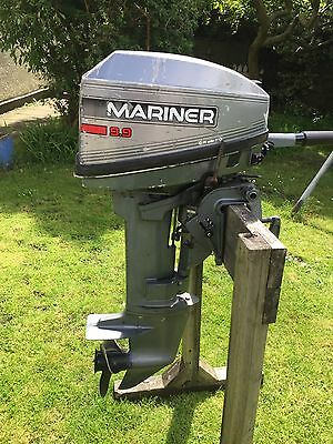 Mariner 9.9hp 2 Stroke 1995 Mercury Outboard Engine