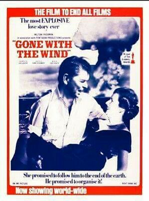 New Margaret Thatcher Poster MINT Gone With The Wind rolled