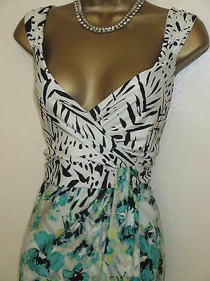 gorgeous maxi dress size 14 stretch floral party occasion wedding holiday