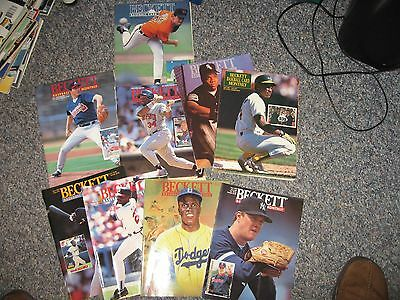 Beckett Baseball Card Monthly-9 Issues from the 1990's