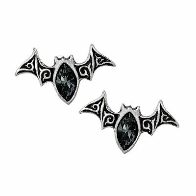 Alchemy Gothic Viennese Nights Pewter Pair of Earrings BRAND NEW