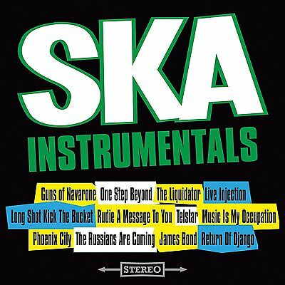 Various Artists - Ska Instrumentals (2017)  CD  NEW/SEALED  SPEEDYPOST
