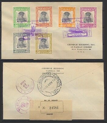 No: 49156 - PARAGUAY - AN OLD AIR MAIL COVER!