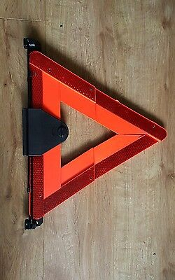 Audi in boot lid Hazard Warning Triangle with Holder & screws