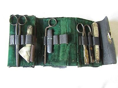 Ww1 Royal Army Veterinary Corps - Arnold & Son London - Field Instrument Set