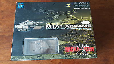 Dragon Micro-X-tech 1/72 rc Abrams tank - palm top series
