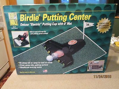 Birdie Putting Center Deluxe Electric Putting Cup 19th Hole with 8' Mat
