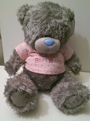 """Me to you bear 30 cm high seated """" Happy Birthday"""" Tagged"""