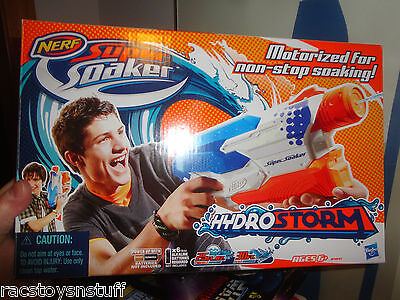 Nerf Super Soaker Hydro Storm With Non Stop Soaking Action, Motorized, Mib