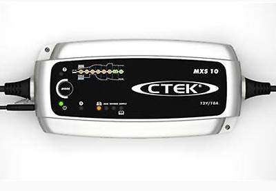 Ctek mxs10 battery charger 8 stage and reconditioner ,12v lead batteries
