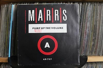 "7"" Single Marrs - Pump Up The Volume"