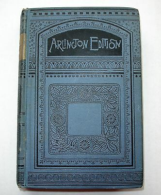 Antique Old Curiosity Shop Charles Dickens Arlington Edition Hardcover