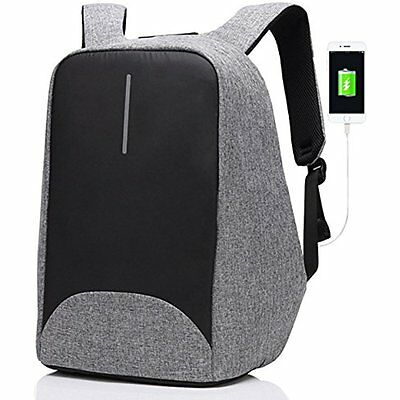 Anti-theft Business Laptop Backpack With USB Charging Port Fits To 15.6 Inch