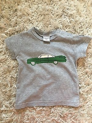 polarn o pyret Car Tshirt 6-9 Months - Excellent Condition