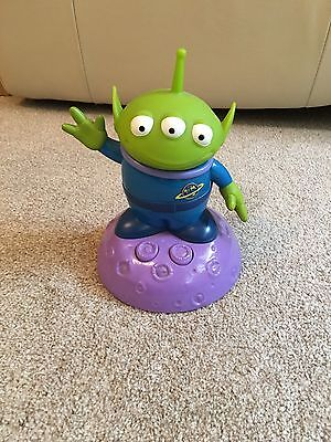 Disney Toy Story 2 Thinkway Alien Lamp Lights Up With Sounds And Phrases Rare