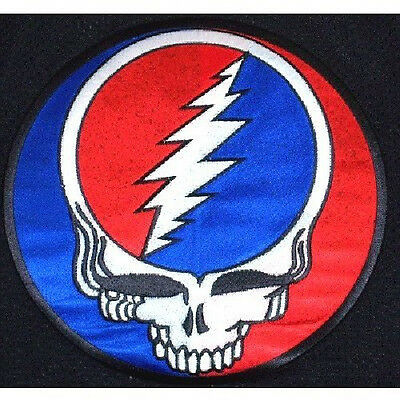 Grateful Dead Steal Your Face Back Patch New Official