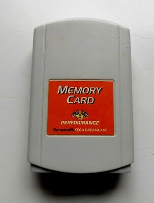 Carte Mémoire Sega Dreamcast Pal