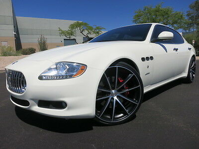 "2009 Maserati Quattroporte S 4.7 Executive GT Package Heated/Cooled Seats Custom 22"" Whls 2008 2010 2011 2012"