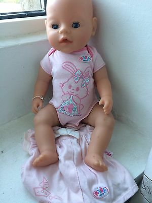 Zapf Creation My Little Baby Born Girl Doll With Clothes
