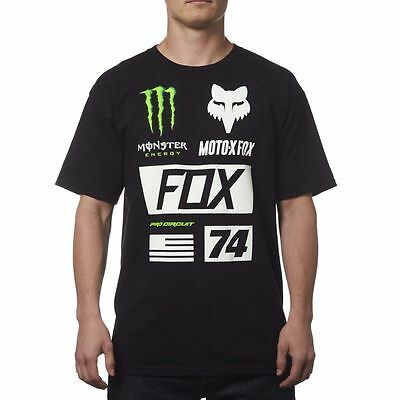 Fox MONSTER UNION maglietta manica corta motocross enduro Pro Circuit Team