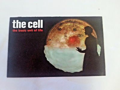 "Vintage 1960 Upjohn Co. Handout ""the Cell"" The Basic Unit Of Life"""