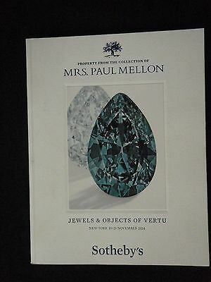 Sotheby's Collection of Mrs Paul Mellon Jewels and Object of Vertu 2014 New York