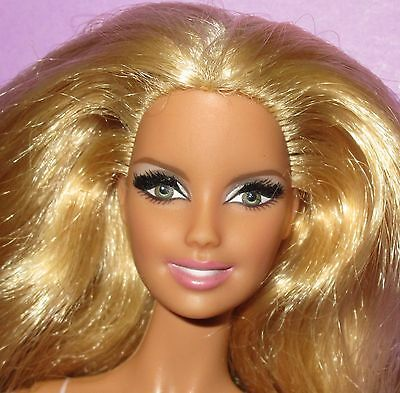 Barbie Model Muse Heidi Klum Loose for OOAK or Play Collector Mattel Lashes