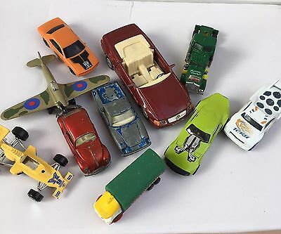 Selection Of Toy Cars Some Old Matchbox