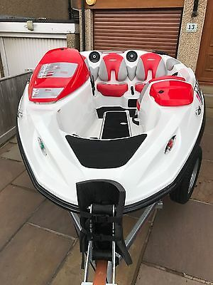 Seadoo Speedster Jet Boat 215HP Four Stroke Only 50Hrs From New !!!