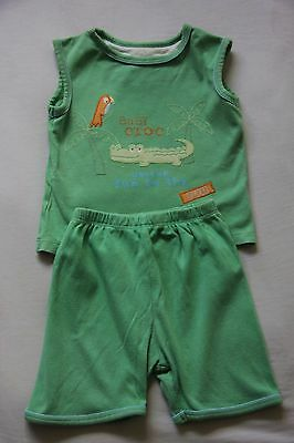 Summer sleeveless pyjamas PJ's from Mothercare in 12-18 months
