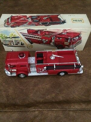 1970 Hess Fire Truck - Complete - Very Nice