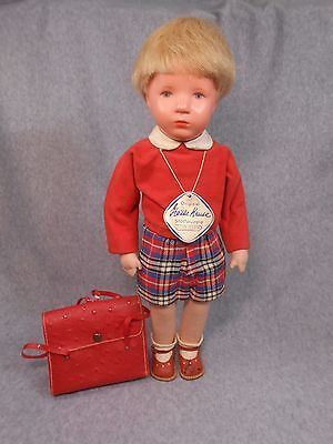 Kathe Kruse 1950's US Zone Boy Doll in Excellent Condition