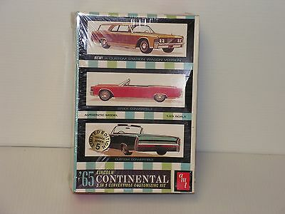 Amt #8122 1/25  1965 Lincoln Continental Factory Sealed
