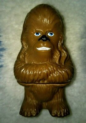 Burger King Star Wars 4 inch Chewbacca Spin Toy Top