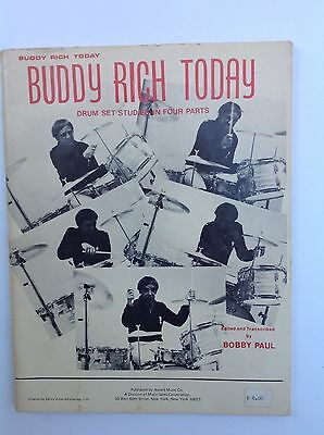 Buddy Rich Today Drum Studies in Four Parts
