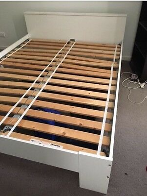 Ikea Queen Bed Frame White