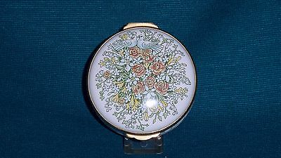 Crummles enamel box flowers and doves