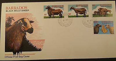 Barbados FDC 1982 Black Belly Sheep