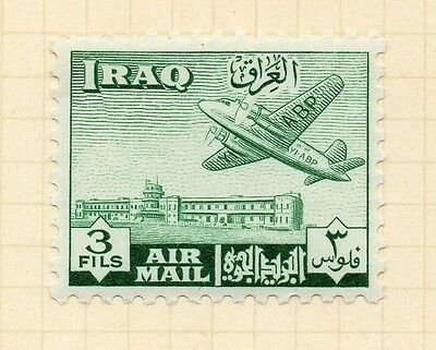 Iraq 1949 AIR Early Issue Fine Mint Hinged 3f. 166188