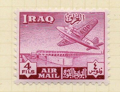 Iraq 1949 AIR Early Issue Fine Mint Hinged 4f. 166189