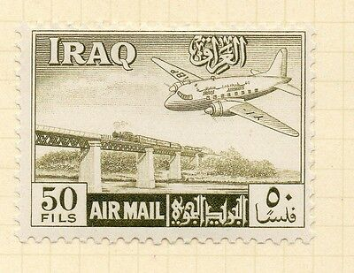 Iraq 1949 AIR Early Issue Fine Mint Hinged 50f. 166194
