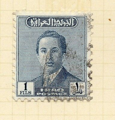 Iraq 1954 Early Issue Fine Used 1f. 166196