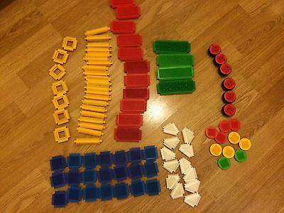 STICKLE BRICKS ASSORTED BUNDLE NEARLY 100 Pieces