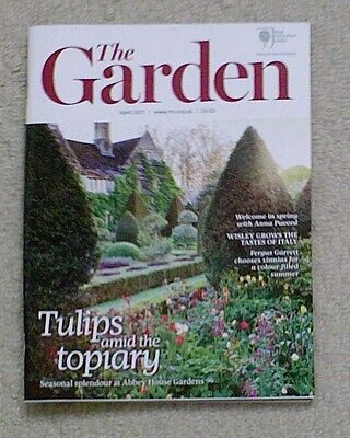 'The Garden' - April 2017 issue - RHS Royal Horticultural Society magazine