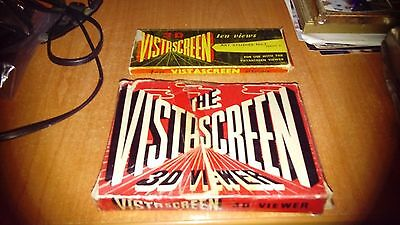 vintage 3d vistascreeen viewer with artistic cards