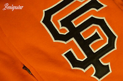San Francisco Giants MLB Baseball Jersey Jacket Hoodie Mitchell and Ness