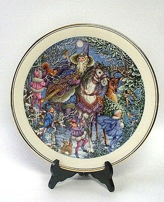 Royal Doulton Collectors' Gallery Edition Spellbinder 'Winter Magic' Plate